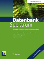 "Cover Datenbank Spektrum ""Semantic Web"""